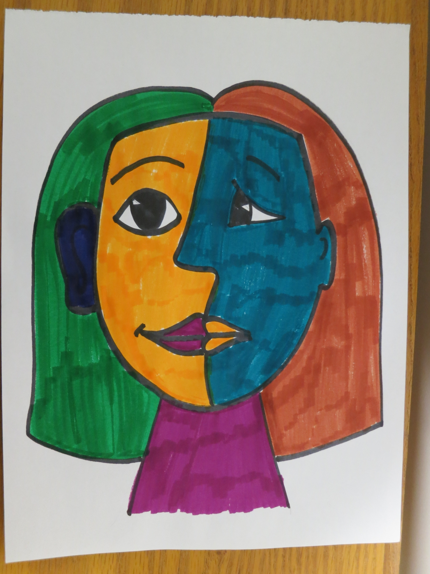 Kids Explore Art: Picasso Faces | Anythink Libraries