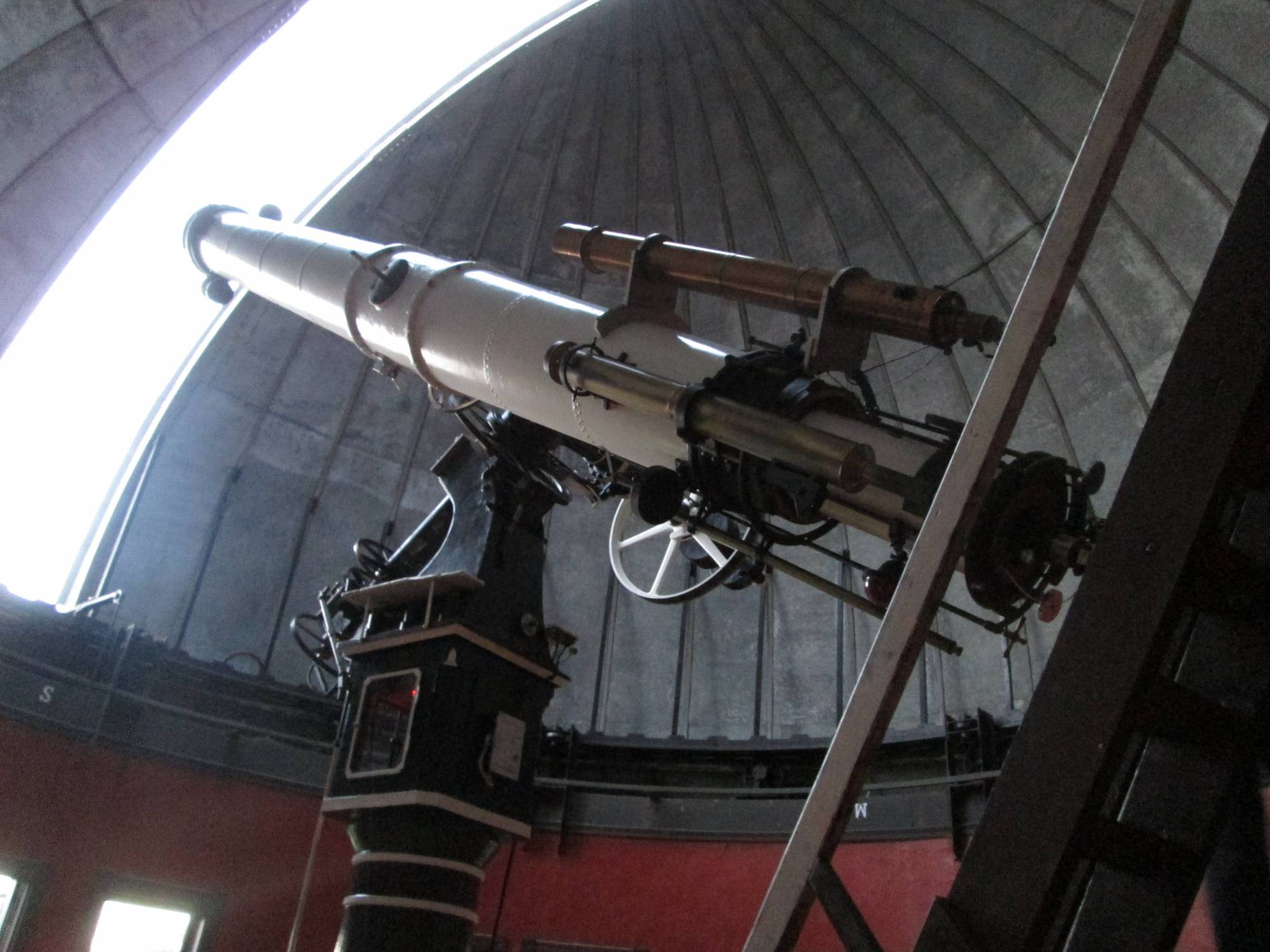 The inside of the Chamberlin Observatory