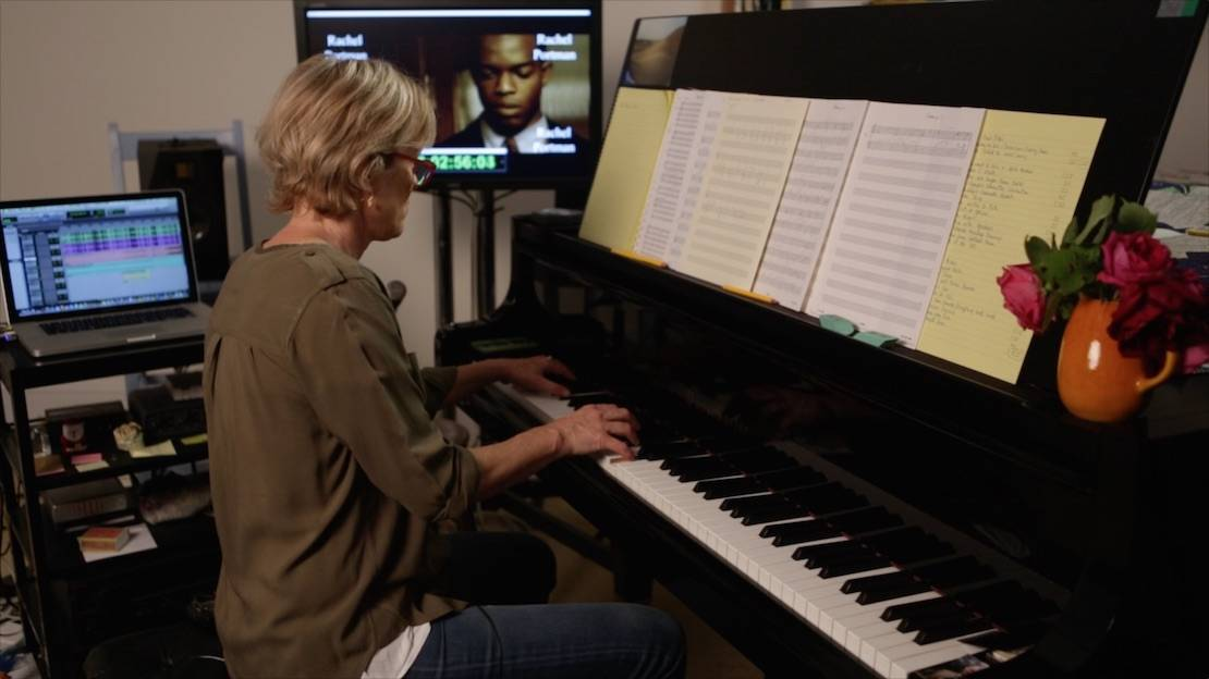 "Rachel Portman composing the score to ""Race"""