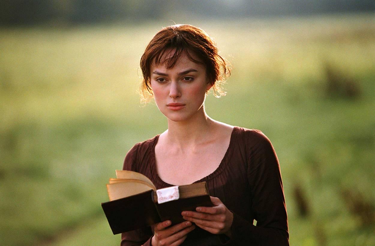 Elizabeth Bennet, as portrayed by Keira Knightley