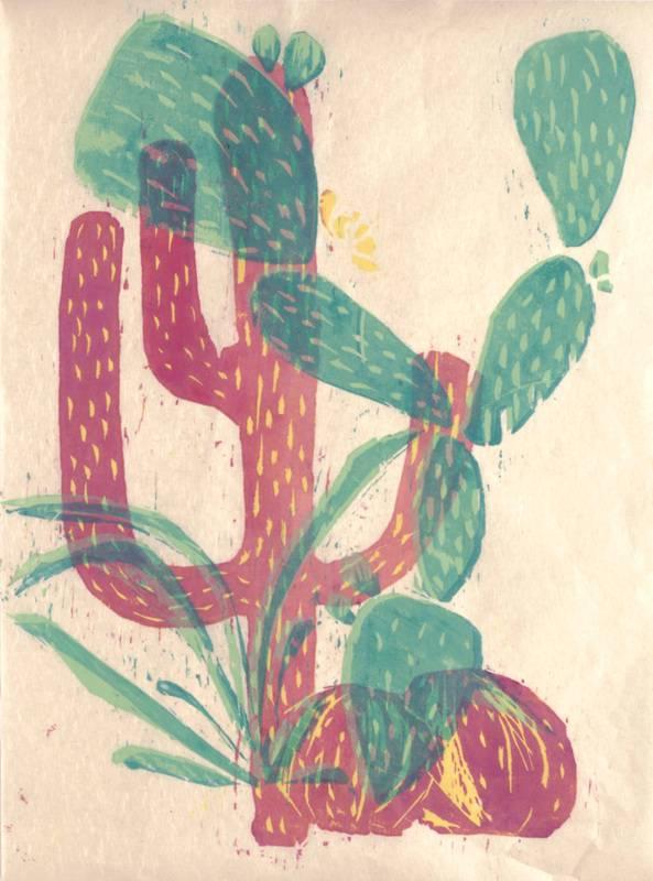 Ashley Quick Printmaking original