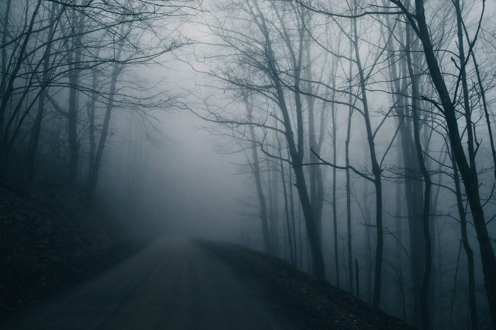 haunted road