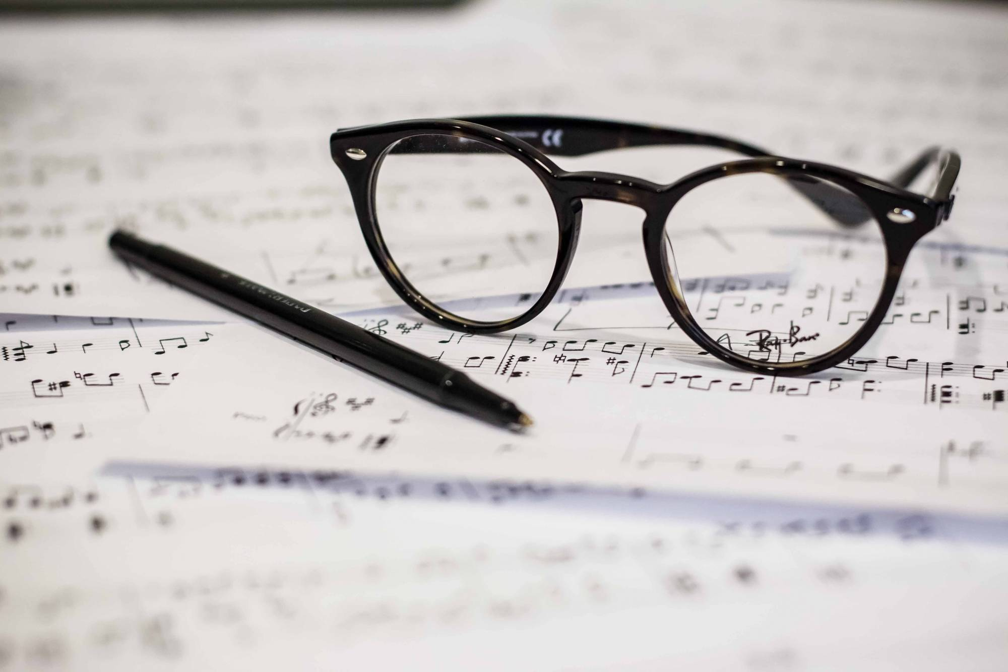 music and glasses