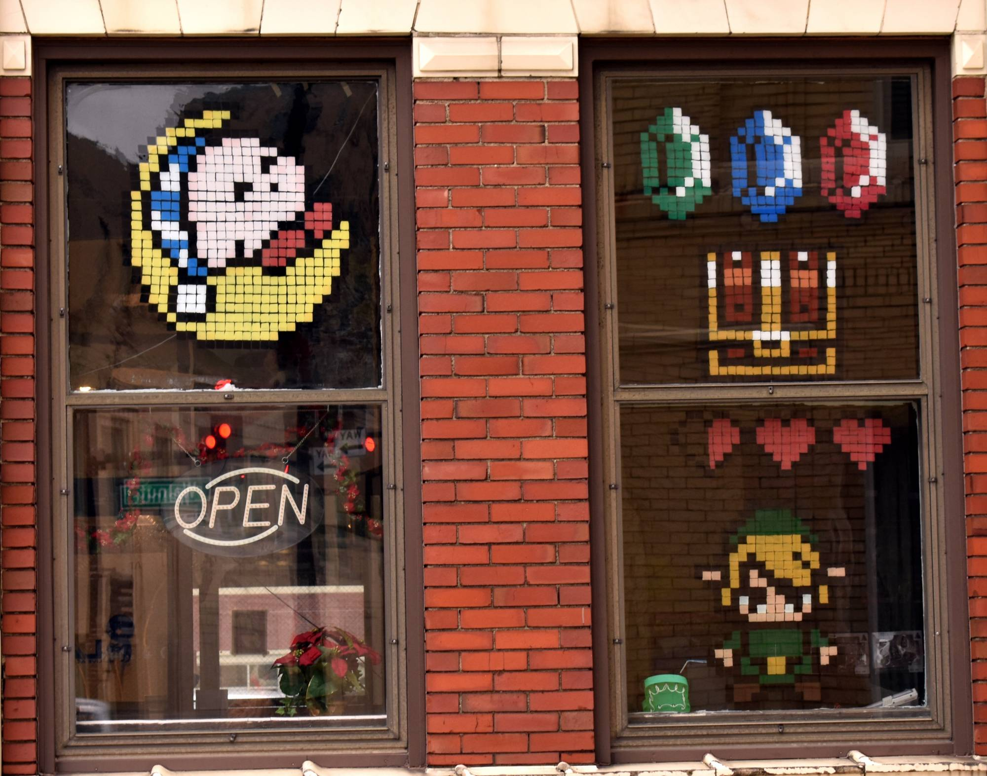 Pixel art on windows
