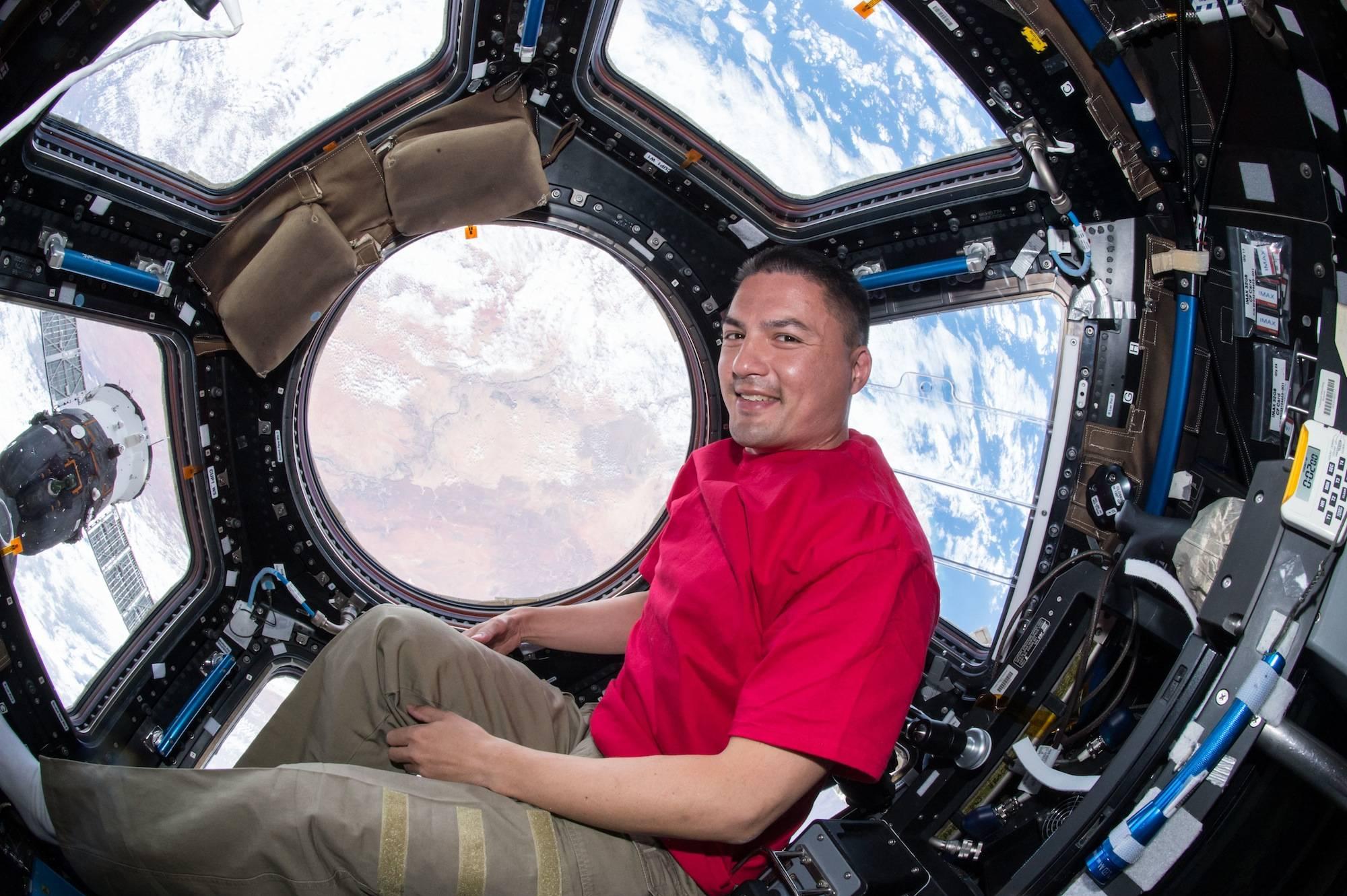 Kjell Lindgren NASA space astronaut