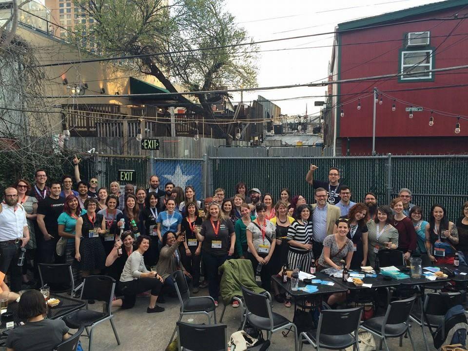 The lib*interactive crew in Austin, Texas