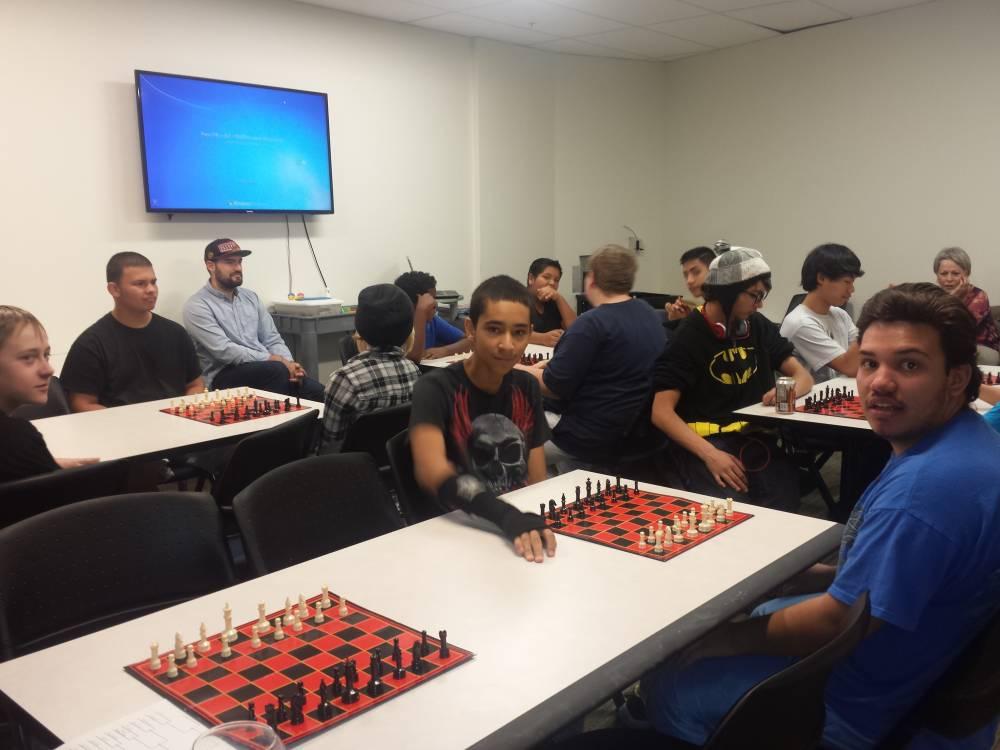 Chess Tournament at Anythink York