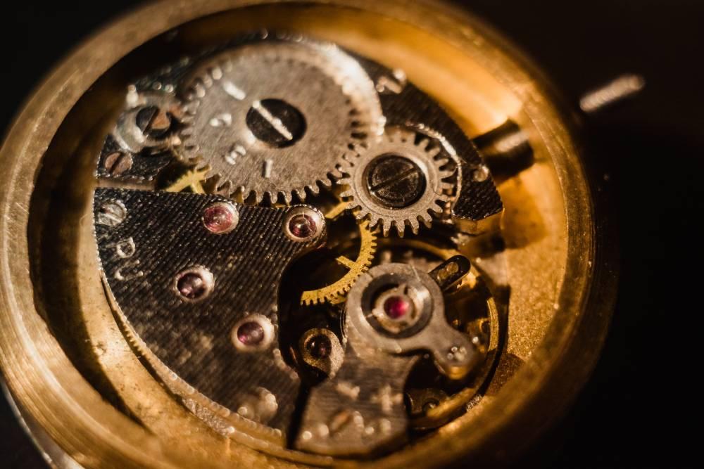 gears in a watch