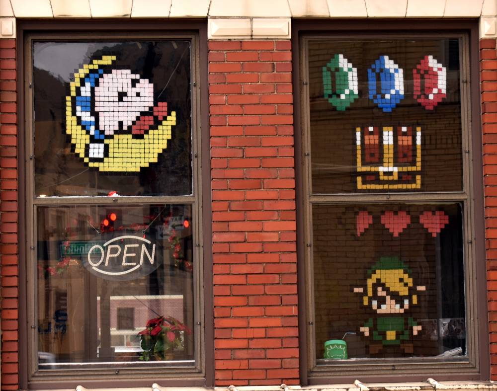 Pixel art on windows