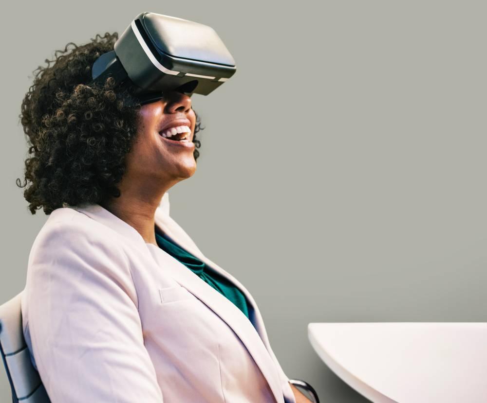 VR lady