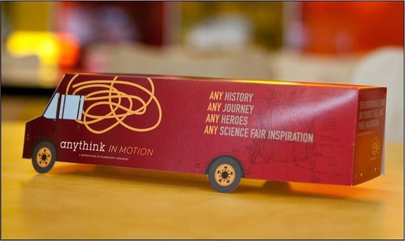 Anythink Celebrates National Bookmobile Day on April 13