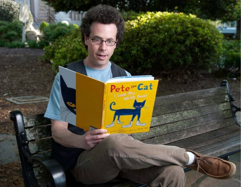 Author Eric Litwin is coming to Anythink in July.