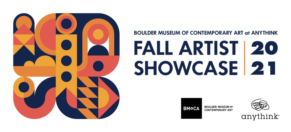 Tri-colored design and logo for Fall Artist Showcase