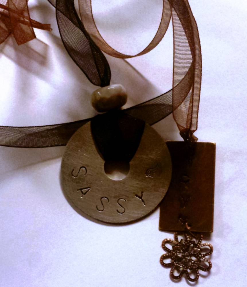 Stamped Pendants