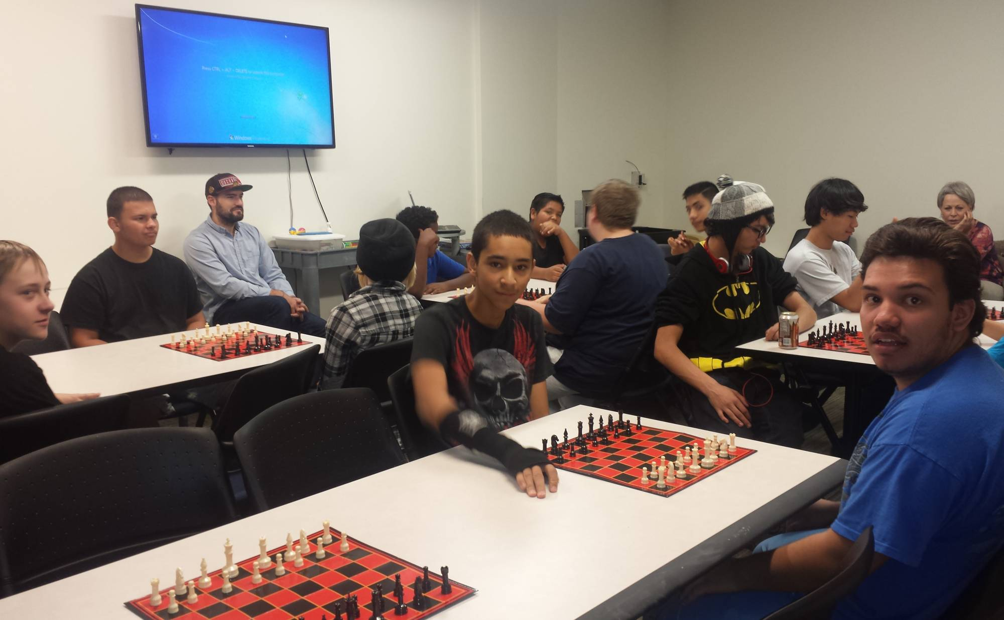 Chess Tournament at Anythink York