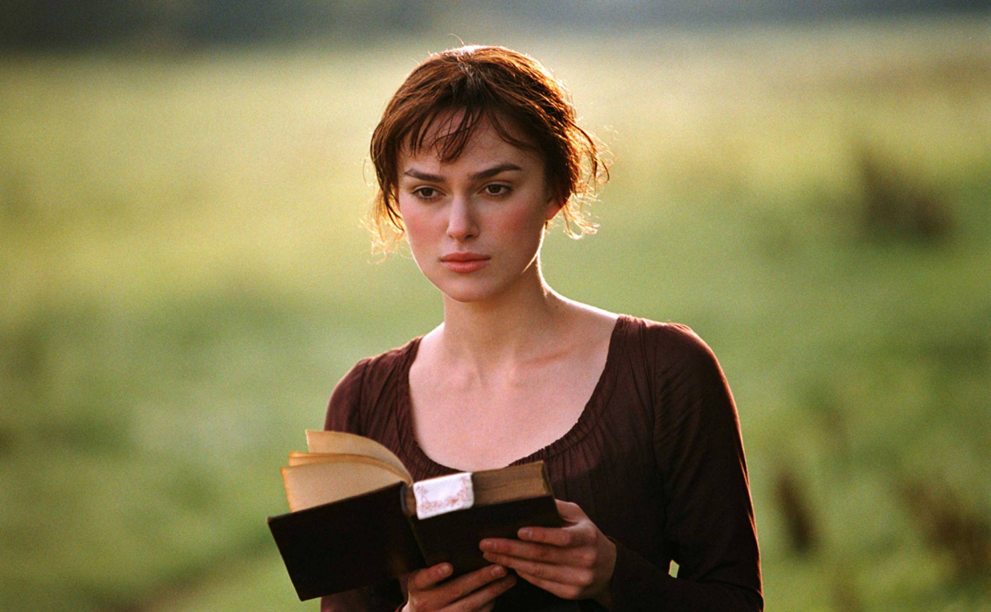 Elizabeth Bennet, as portrayed by Keira Knightley