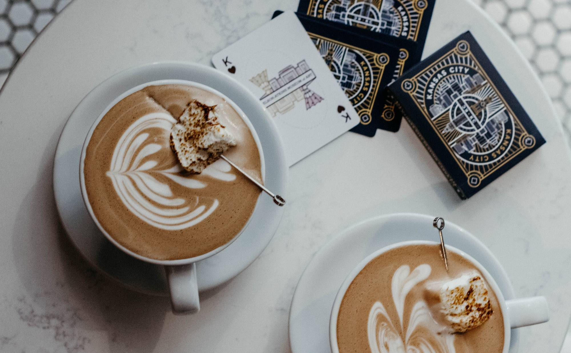 Coffee and cards
