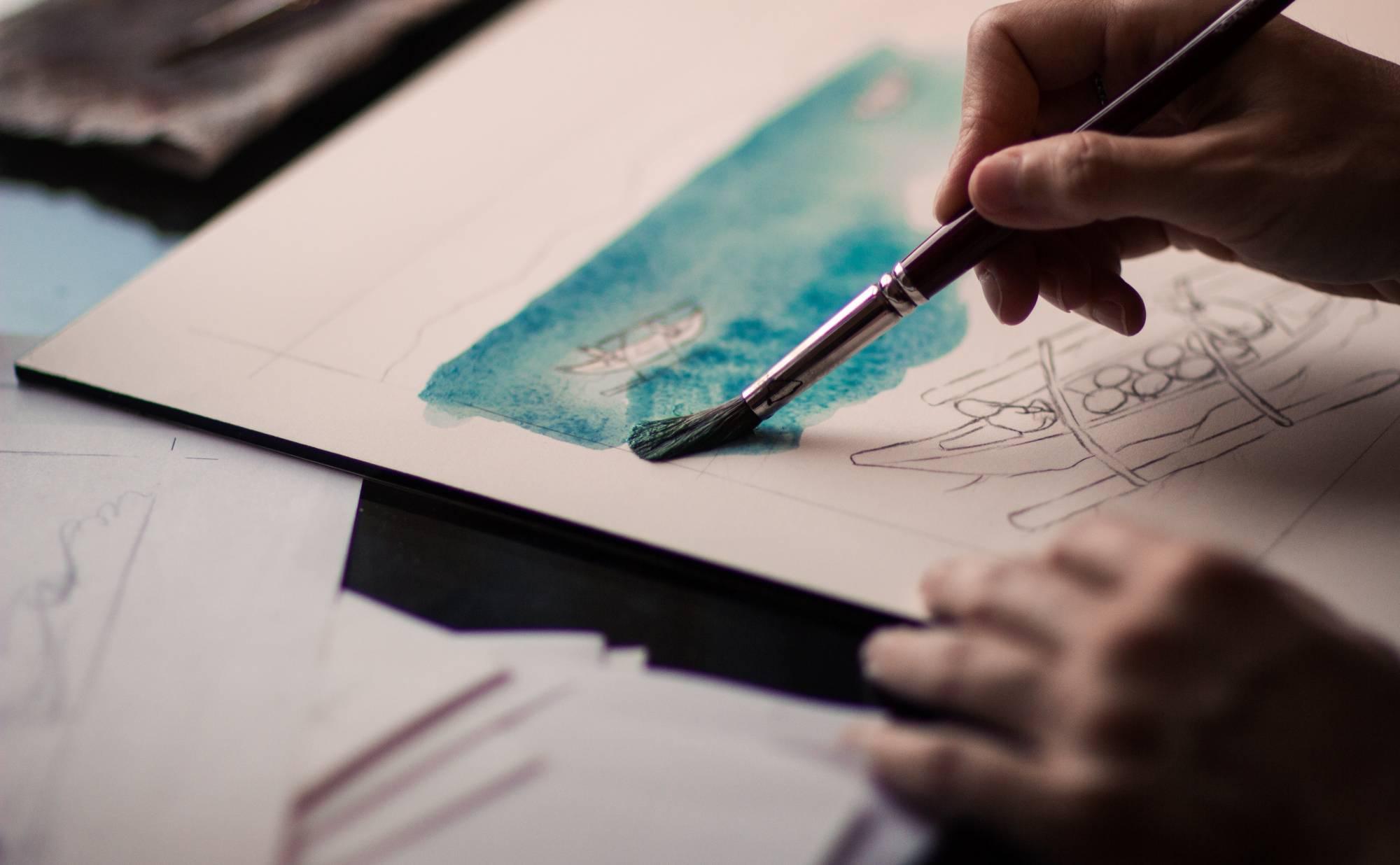 watercolor painter