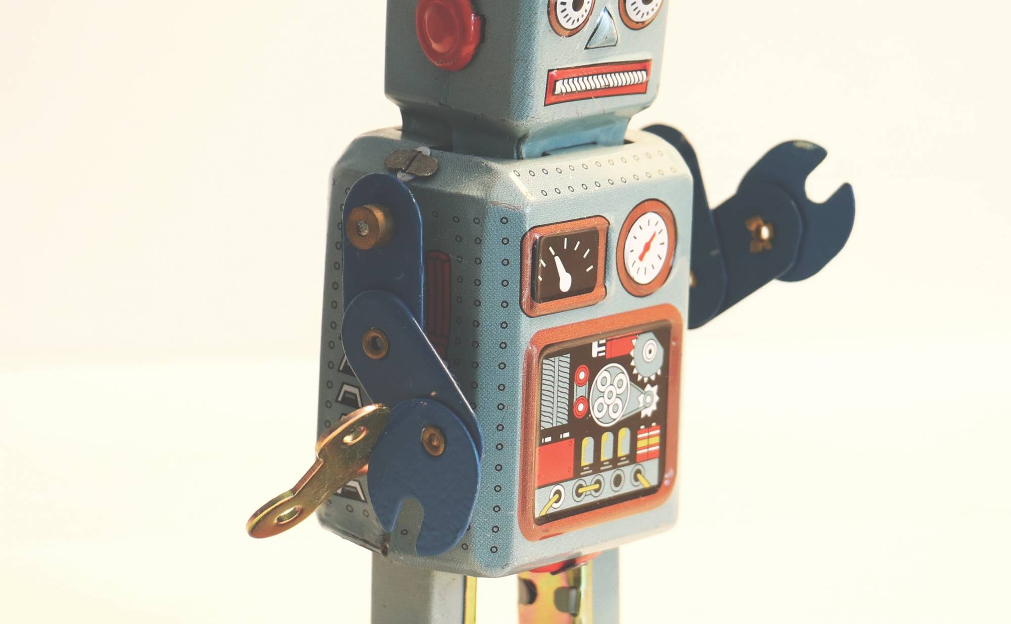 Robot standing