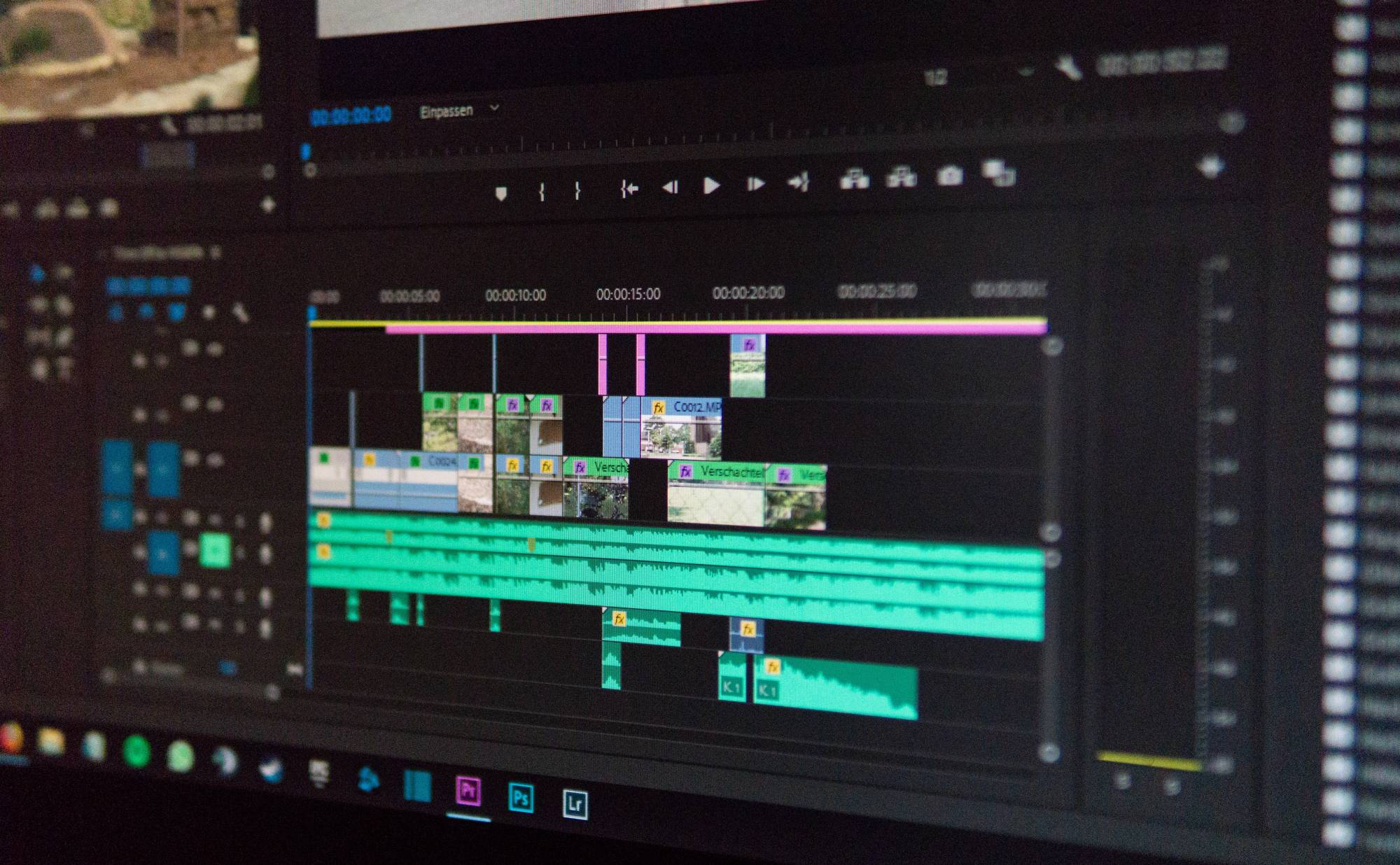 Premiere Pro UI
