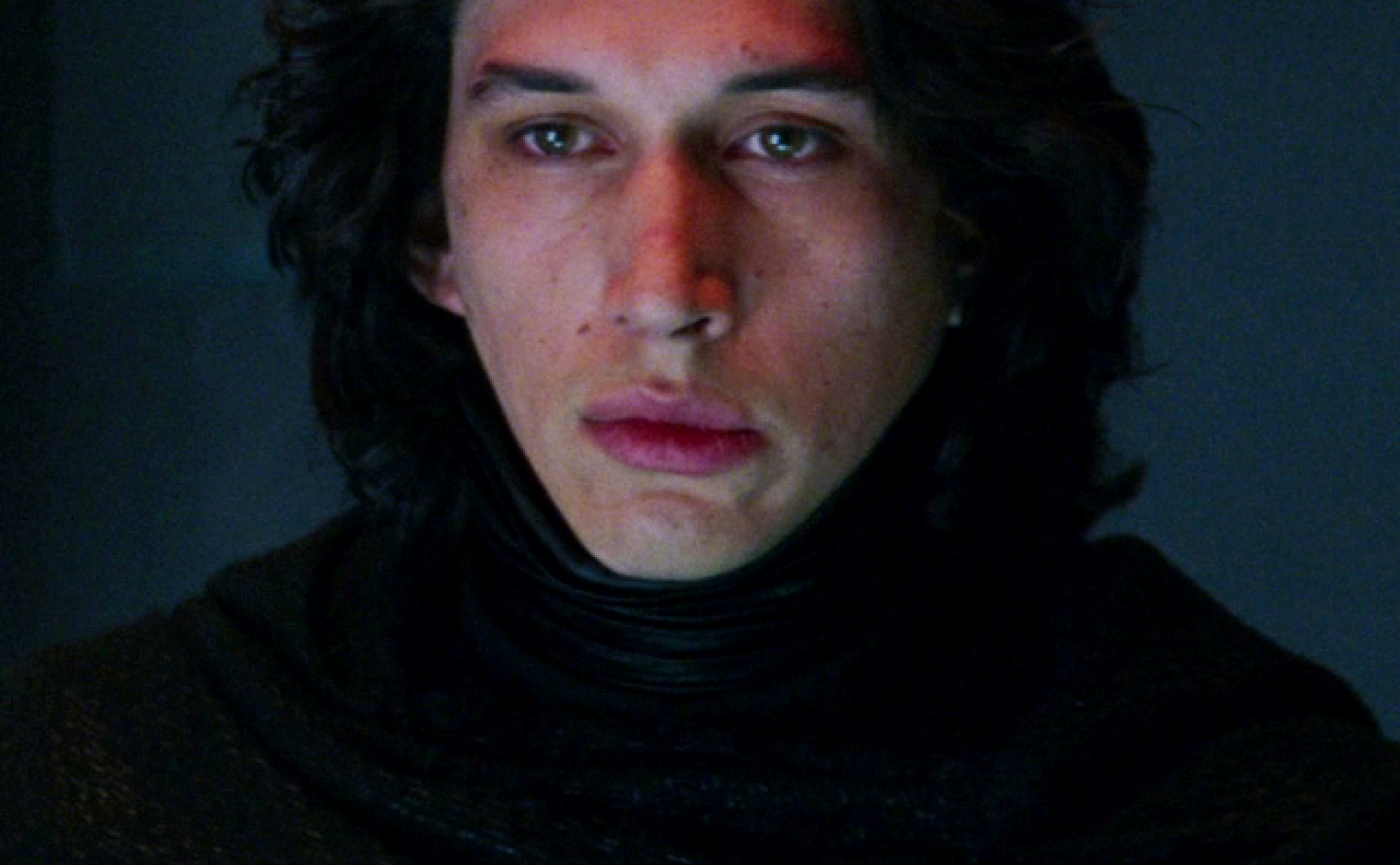 Kylo Ren is Adam Driver