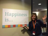 Happiness is...Justina Wooten, Anythink Concierge!